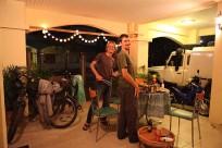 Grillabend mit Marie und Michael